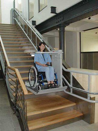 Plataformas elevadoras elevadores de sillas de ruedas for Sillas ascensores para escaleras precios